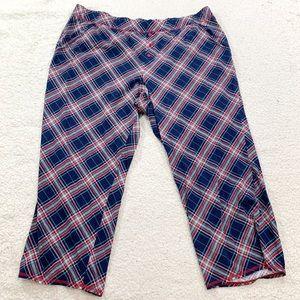 Cacique plus sized plaid pajama pants 26/28